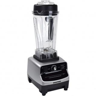 Syntrox Küchenmixer Standmixer BPA-frei, 1500 Watt, 40000 U/Min, 2 Liter, 6 Edelstahlklingen - LCD-Display - Zerkleinerer - Icecrusher - Getreidemühle - Vorschau 2
