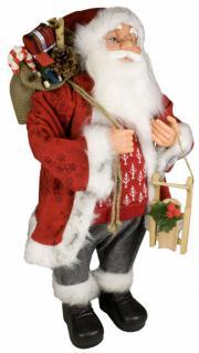Weihnachtsmann Santaclaus Nikolaus LEEVI 60 cm