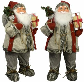 Weihnachtsmann Santaclaus Nikolaus HANS, 80 cm
