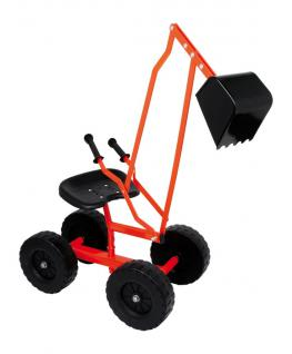 Sandbagger Sitzbagger Sandspielzeug Bagger mit Räder - Vorschau 2