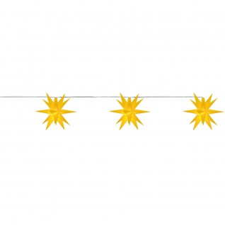 LED-Stern 3er-Kette Babysterne