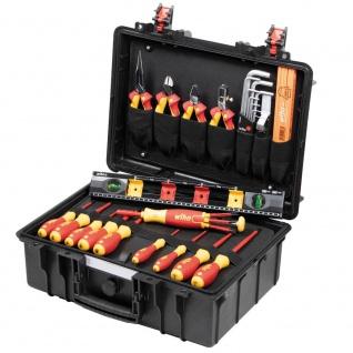 Wiha Werkzeugkoffer, Basic L electric, 34-teilig