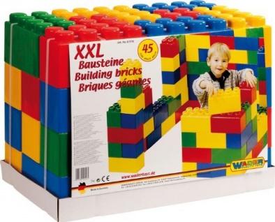 Wader Bausteinblock XXL, 45 Teile - Vorschau 2
