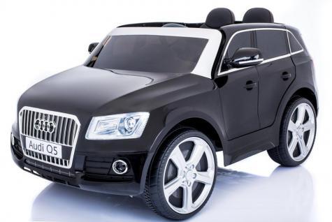 "Kinderfahrzeug - Elektro Auto "" Audi Q5"" - lizenziert - 12V7AH Akku, 2 Motoren- 2, 4Ghz Fernsteuerung, MP3"