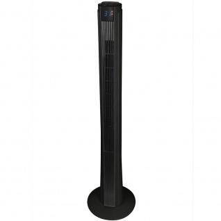 """Syntrox Digitaler XXL Turmventilator mit Fernbedienung und Oszillation """" schwarz"""""""