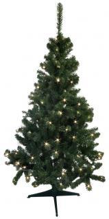 Weihnachtsbaum mit 100 LED-Lichtern - Vorschau 2