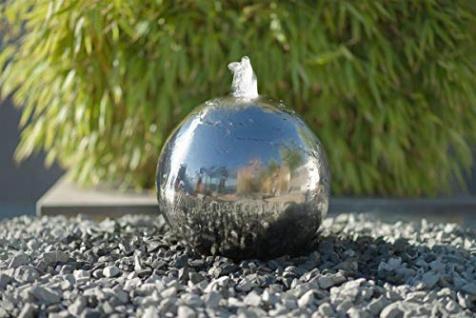 Ubbink KAMBOS - Wasserspiel Edelstahl-Kugel mit LED