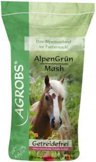 Agrobs Alpengrün Mash 15 kg, getreidefrei