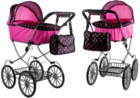 Puppenwagen Alice Retro Kinderwagen Puppe