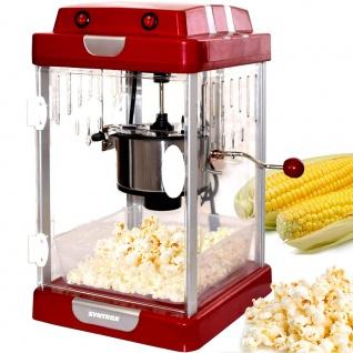 Syntrox Germany Nostalgie Popcorn Maker Popcornmaschine PCM-310W Texas