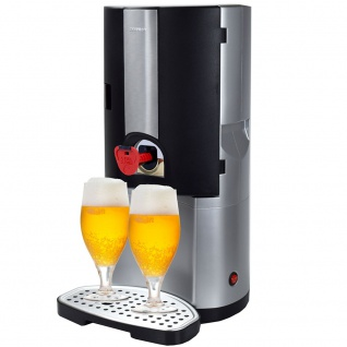 Syntrox Bierkühler Bierzapfanlage BC-65W mit thermoelektrischer Kühlung für 5 Liter Fässer