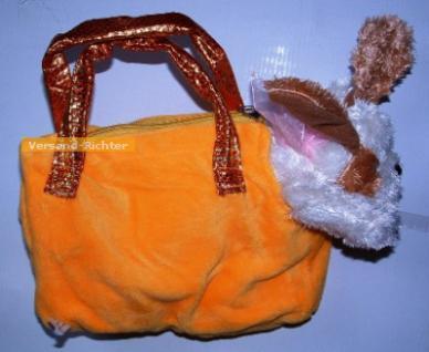 Handtasche Plüschtasche Hund, Hundetasche, gelb - Vorschau 2