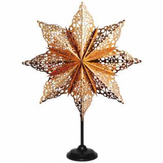 Weihnachtsstern, MÄRTA Papier bronze glänzend