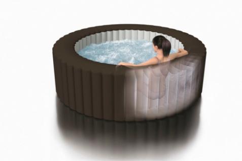 Aufblasbarer Whirlpool Thermo-Sprudelbad Pure SPA 77 Jet Massage mit Kalkschutzsystem - Vorschau 4