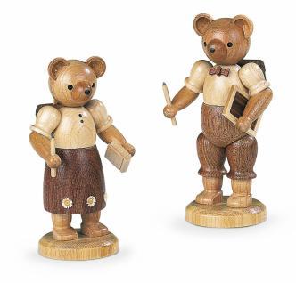 Müller-Kleinkunst aus dem Erzgebirge® seit 1899 Bärenschulmädchen