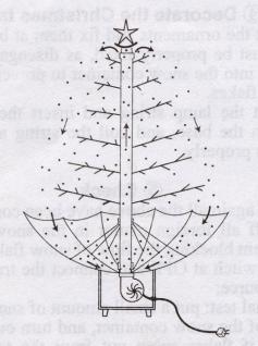 Weihnachtsbaum mit Schneefall Schnee LED Licht Musik 2 m GRÜN - Vorschau 2