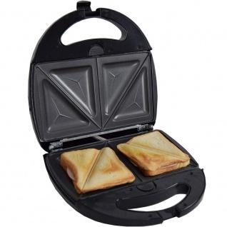Syntrox Sandwichmaker mit austauschbaren Backplatten SM-1300W - Vorschau 2