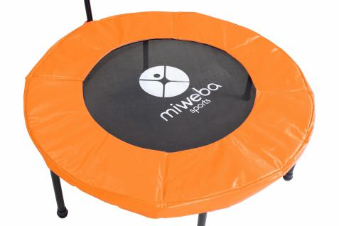 Miweba JUMPNESS Fitness Trampolin Round 40`orange inklusive Pad - Vorschau 3