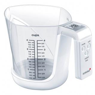 Korona Küchenwaage, elektrisch, 75877, weiß