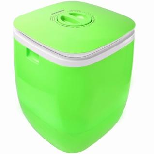 Syntrox 2, 0 Kg Waschmaschine Miniwaschmaschine mit Timer und Schleuder 150 W grün - Vorschau 4