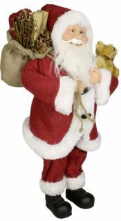 Weihnachtsmann Santaclaus Nikolaus MATTHIS 45 cm