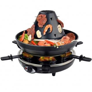 Syntrox Tatarenhut Grill Raclette für 6 Personen