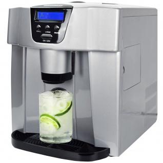 Syntrox Digitaler Eiswürfelbereiter Eiswürfelmaschine mit Spender