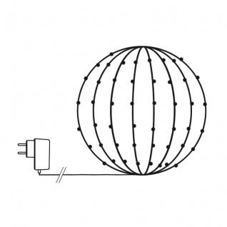 Koopman International B.V. LED-Lichternetz für Buchsbaumkugeln 1, 20m