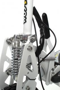 SXT1000 Turbo Elektro Scooter weiss 36V 12Ah Bleigel Akku - Vorschau 5