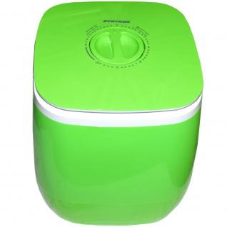Syntrox 2, 0 Kg Waschmaschine Miniwaschmaschine mit Timer und Schleuder 150 W grün - Vorschau 5