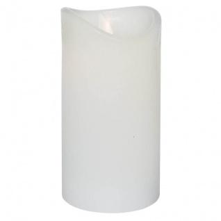 Best Season LED-Echtwachskerze GLOW 1 orange LED H 105