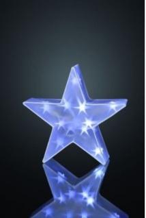 Hellum LED-Deko-Stern 16 BS weiss aussen und innen