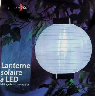 LED Solarlampe Solarlaterne Solar-Lampion + Farbwechsler 2 Stück