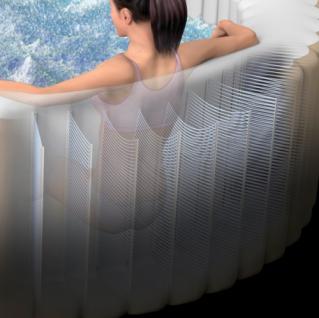 Aufblasbarer Whirlpool Thermo-Sprudelbad Pure SPA 77 Bubble mit Kalkschutzsystem - Vorschau 4