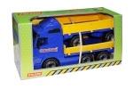 Polesie Power Truck Pritsche mit Anhänger (im Schaukarton)