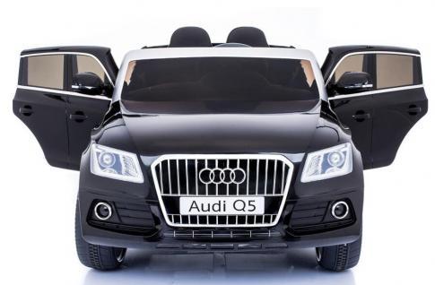 "Kinderfahrzeug - Elektro Auto "" Audi Q5"" - lizenziert - 12V7AH Akku, 2 Motoren- 2, 4Ghz Fernsteuerung, MP3 - Vorschau 4"