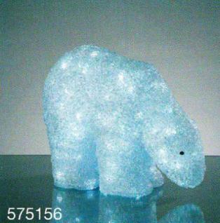 Hellum LED-Eisbär 200 BS weiß außen