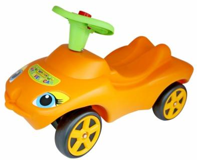 "Rutscher Action Racer "" My lovely car"" – orange mit Hupe"