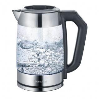 Severin Digital-Glas-Tee-/Wasserkocher, WK 3477, 2200W