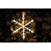 Konst Smide LED-Fensterbild Schneeflocke 24 warmweiße LEDs - Vorschau 3