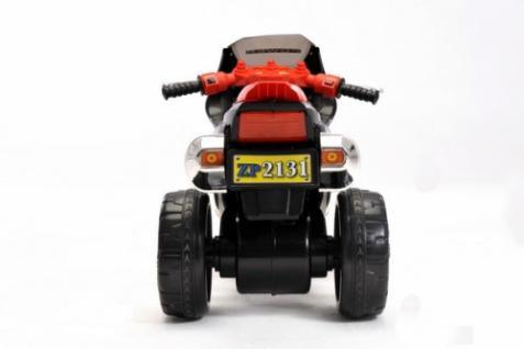 Kinder Elektrofahrzeug Motorrad Sport Schwarz - 6V - Vorschau 3