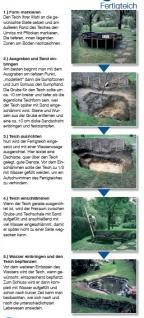 Ubbink Fertigteich Teichbecken Iris S II Teich Fassungsvermögen 240 Liter - Vorschau 2