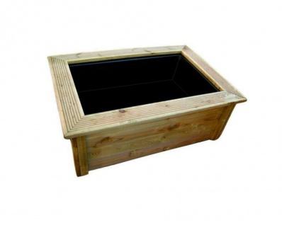 Ubbink Quadro Wood II - kesseldruckimprägnierte Holzumrandung