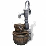 Ubbink Las Vegas - Wasserspiel Schwengelpumpe mit Fässern