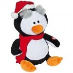 singender Pinguin, H 32 cm, mit Bewegungen und Musik, batteriebetrieben