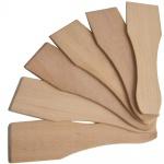Syntrox Design Universal Holzspatel Racletteschieber Raclettesspachtel Wender 6 Stück Set