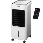 Syntrox Germany 4 in 1 Luftkühler Luftbefeuchter Lufterfrischer und Ventilator mit Touch Panel und Fernbedienung Breeze