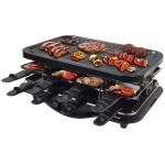 Syntrox Raclette mit 16 Pfännchen und Grillplatte