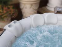 Comfort-Set für Whirlpools 2 x Kopfstützen 1 x Getränkehalter für M-Spa, Auqa-Spa, Bestway