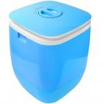Syntrox 2, 0 Kg Waschmaschine Miniwaschmaschine mit Timer und Schleuder 150 W blau